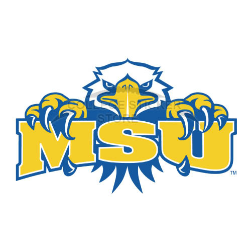 Personal Morehead State Eagles Iron-on Transfers (Wall Stickers)NO.5192